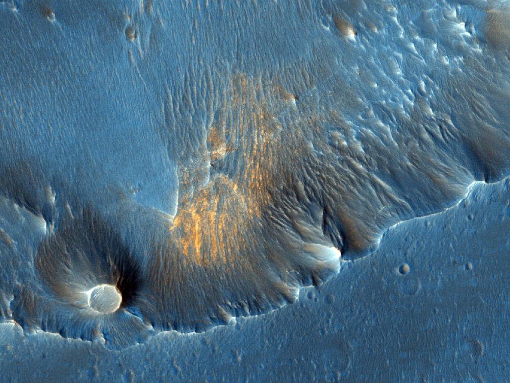 حفرة كابري تشاسماعلى سطح المريخ