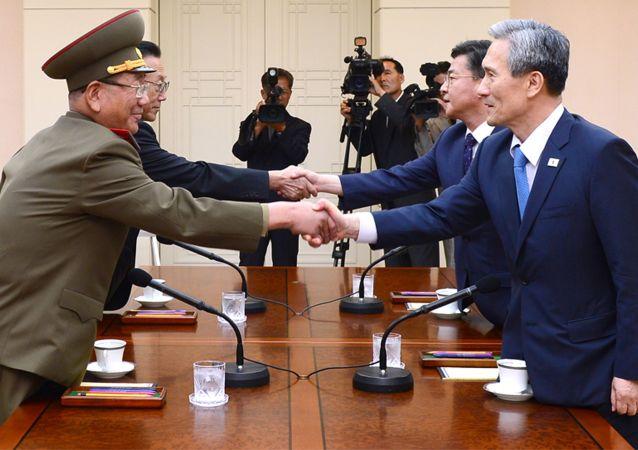 المفاوضات بين الكوريتين
