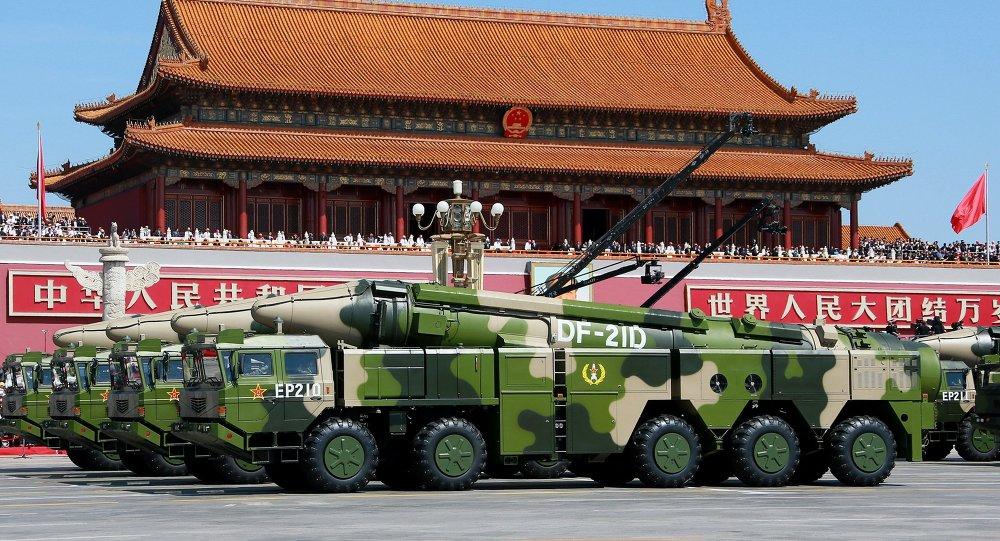 الصاروخ الصيني دي أف - 21 دي