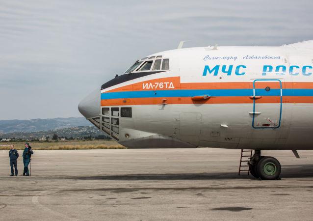 طائرة مساعدات روسية