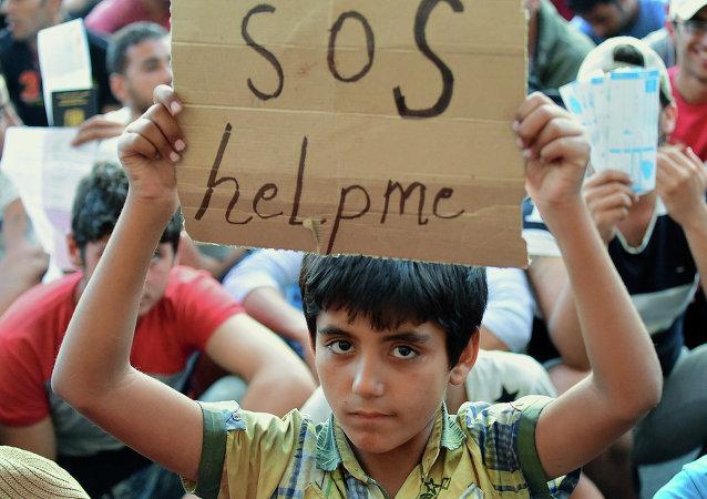 اللاجئين السوريين