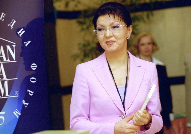 داريغا نزاربايفا إبنة الرئيس نور سلطان نزاربايف