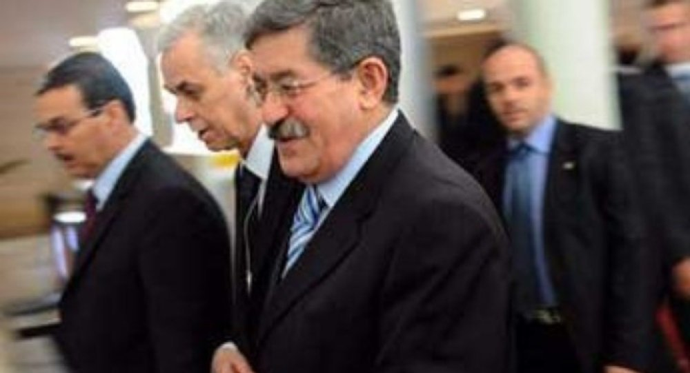 رئيس وزراء الجزائر أحمد أويحيى