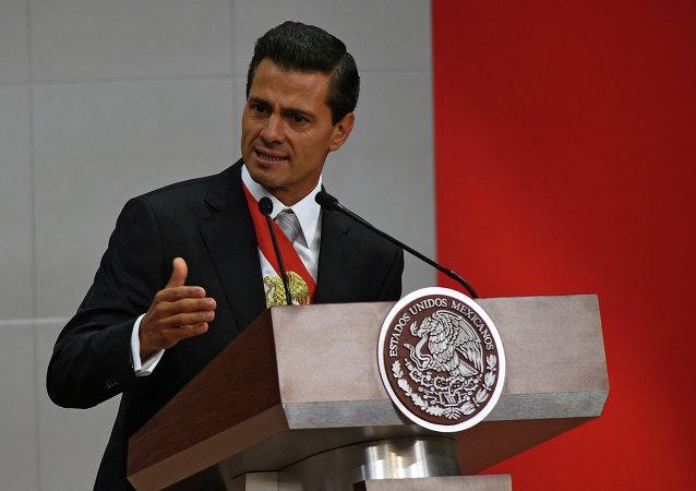 الرئيس المكسيكي بينيا نييتو