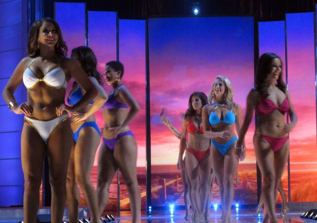 المشاركين في مسابقة الجمال ملكة جمال أمريكا 2016 في ولاية نيو جيرسي