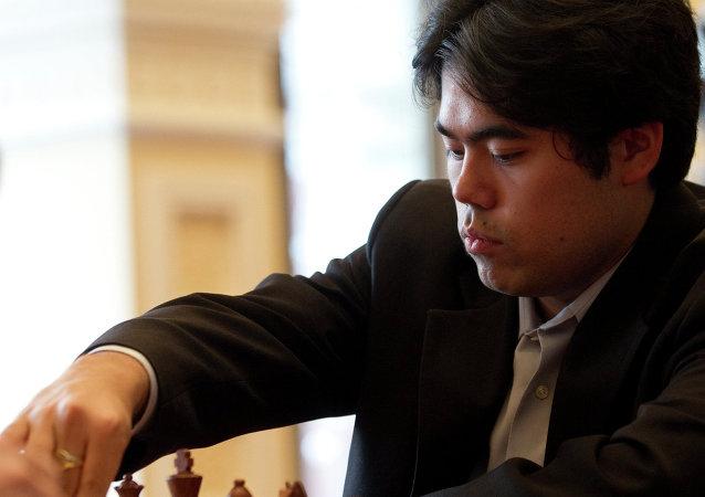 لاعب الشطرنج الأمريكي هيكارو ناكامورا