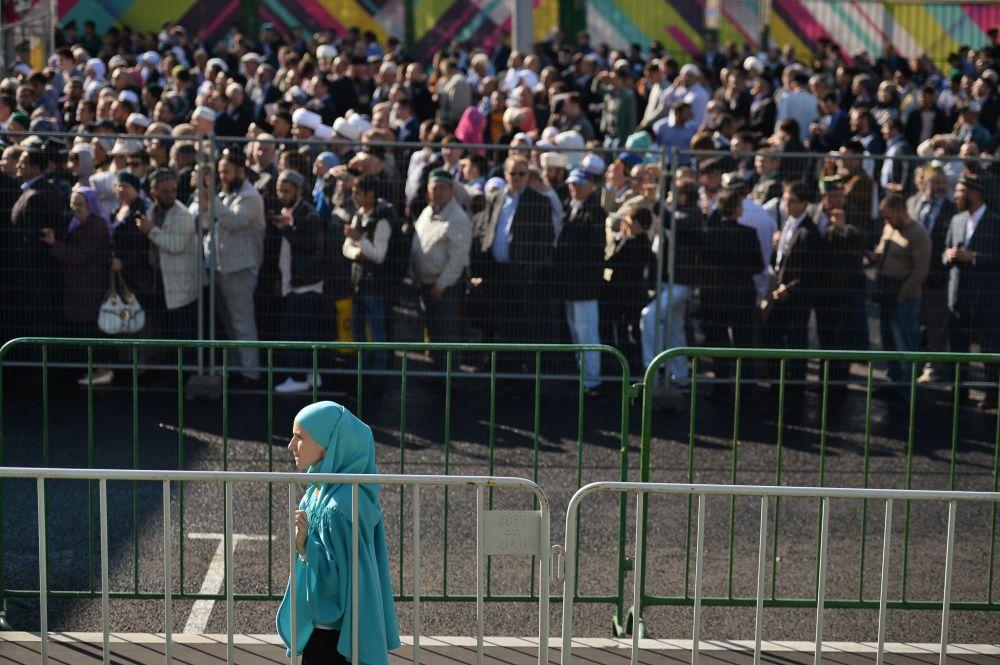 افتتاح المسجد الكبير في موسكو