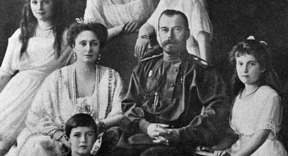 الإمبراطور الروسي نيكولاي الثاني وأسرته