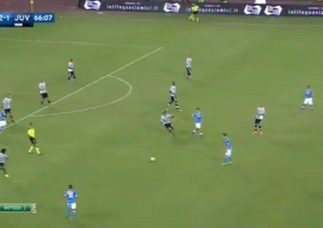 صورة تعبيرية  من مباراة نابولي ويوفنتوس