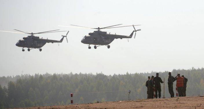 طائرات هليكوبتر عسكرية