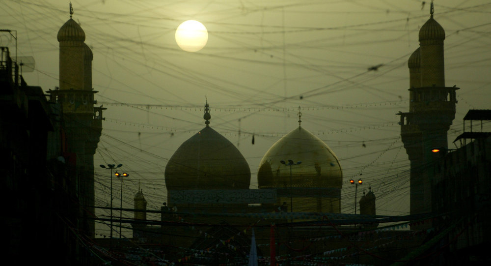 العاصمة العراقية بغداد