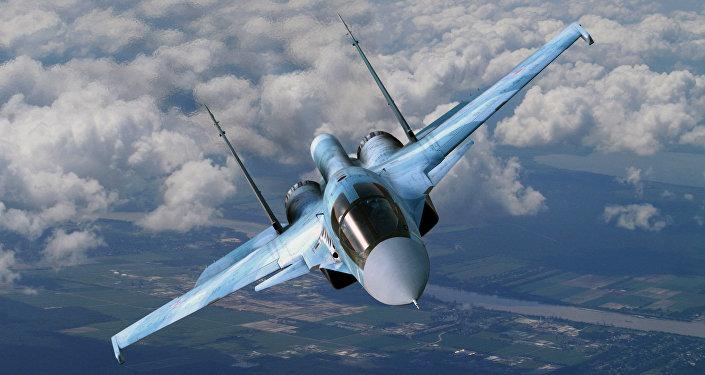 طائرة حربية روسية من طراز سو - 34