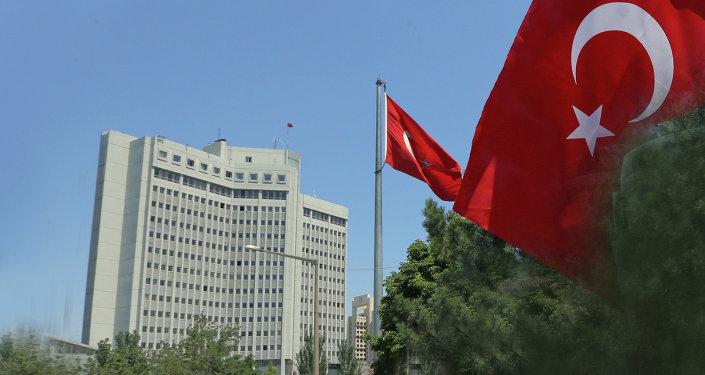 مبنى الوزارة الخارجية التركية