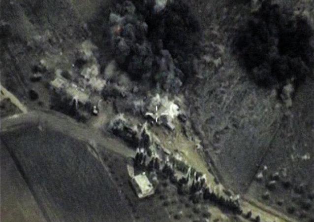 طائرات روسية وجهت الضربات لمواقع تنظيم داعش في سوريا