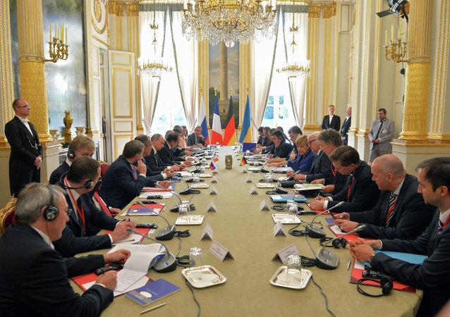 اجتماع مجموعة نورماندي في باريس