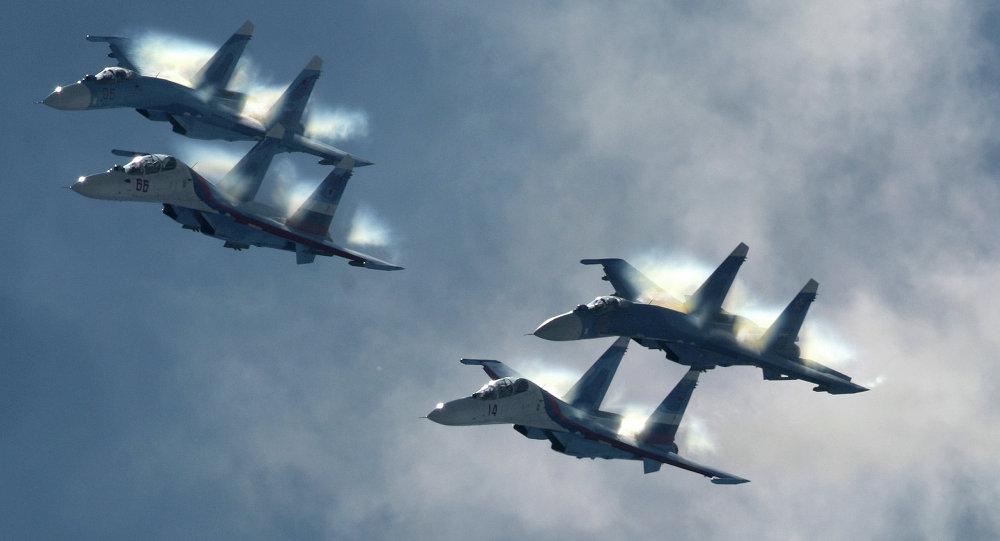 طائرات تابعة للقوات الجوية الروسية
