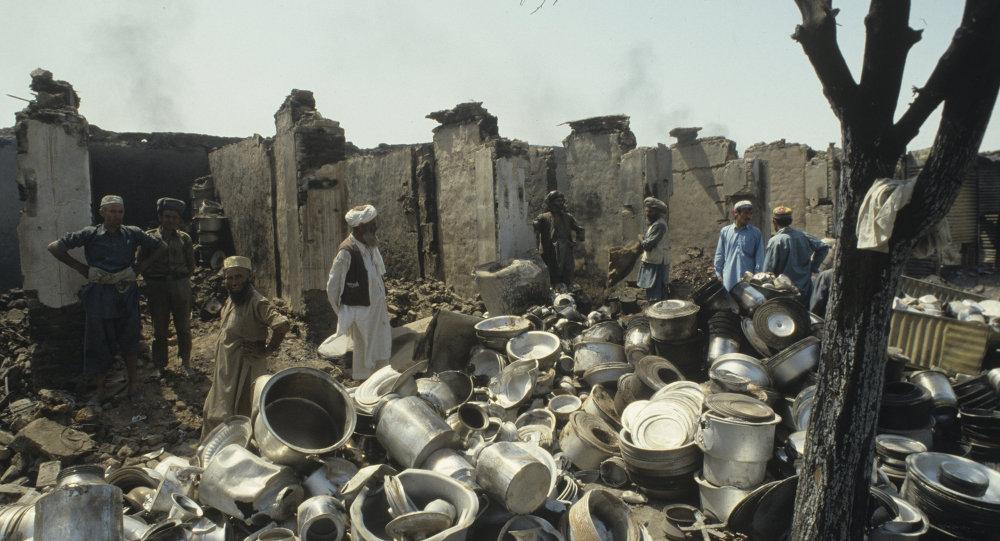 نتيجة بحث الصور عن افغانستان قصف