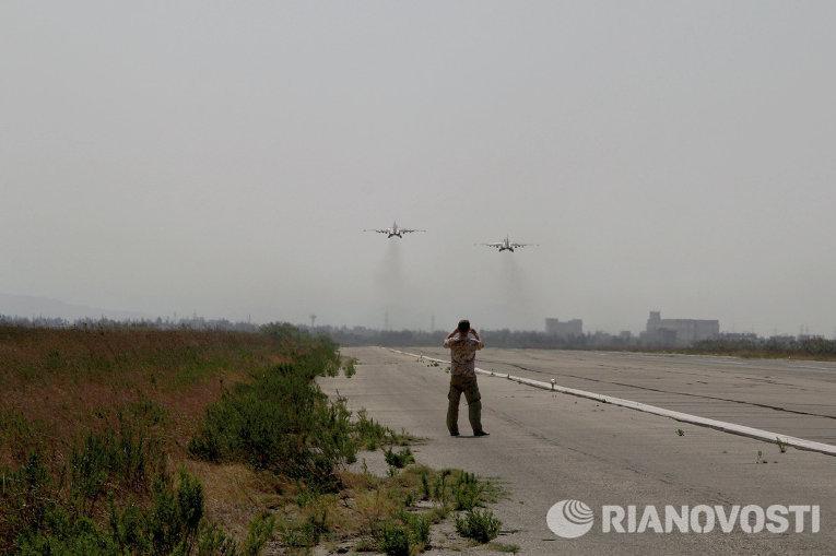إقلاع الطائرات الروسية لضرب داعش