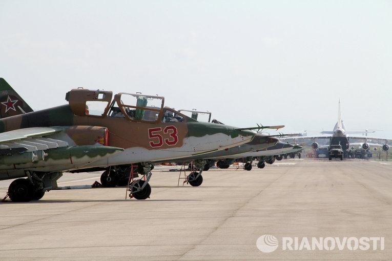 الطائرات الروسية جاهزة في وضع استعداد