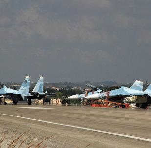 القوات الجوية الروسية في قاعدة حميميم