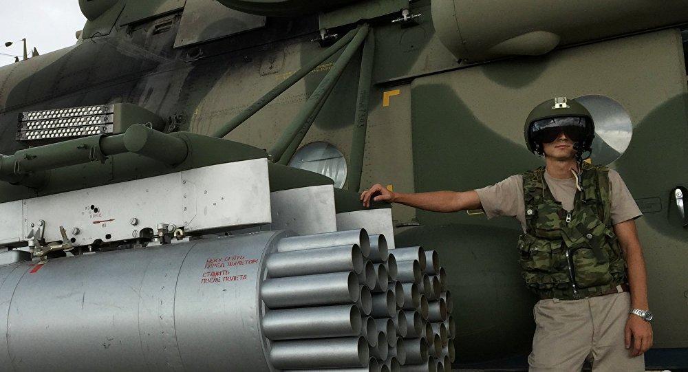 تشارك طائرات الهليكوبتر في العملية الجوية الروسية ضد الإرهاب في سوريا