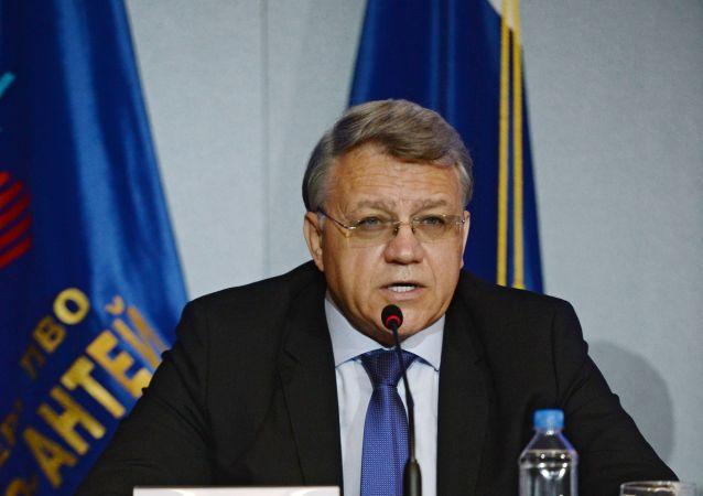 مدير عام شركة ألماز أنتي الروسية يان نوفيكوف
