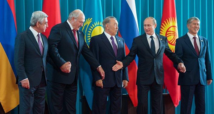 اجتماع المجلس الاقتصادي الأعلى للاتحاد الاقتصادي الأوراسي