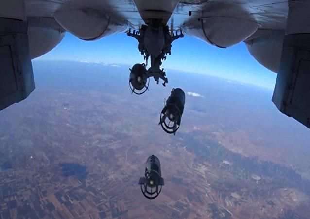 ضرب مواقع للإرهابيين في سوريا
