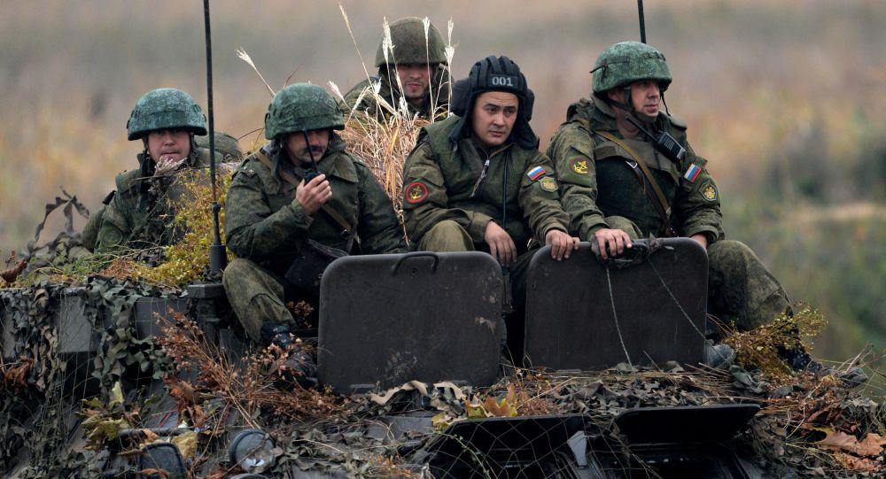 تدريبات لواء مشاة البحرية لأسطول المحيط الهادي الروسي في إقليم بريموريا