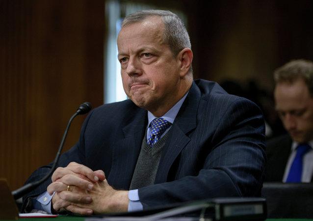 منسق السياسة الأمريكية في مكافحة تنظيم الدولة الإسلامية، جون ألين