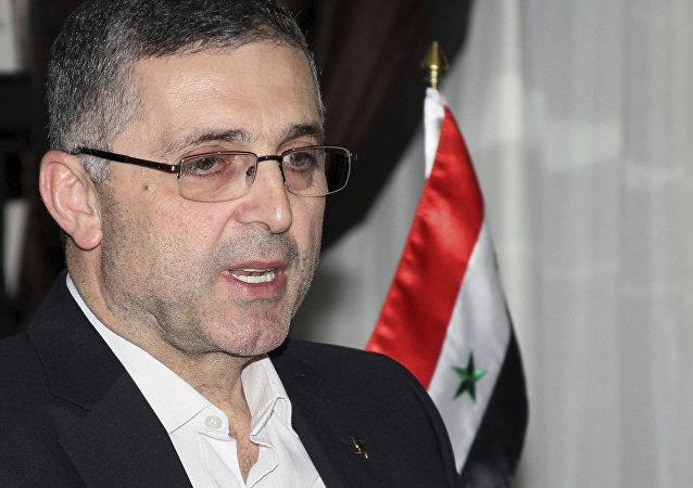 على حيدر وزير المصالحة السوري