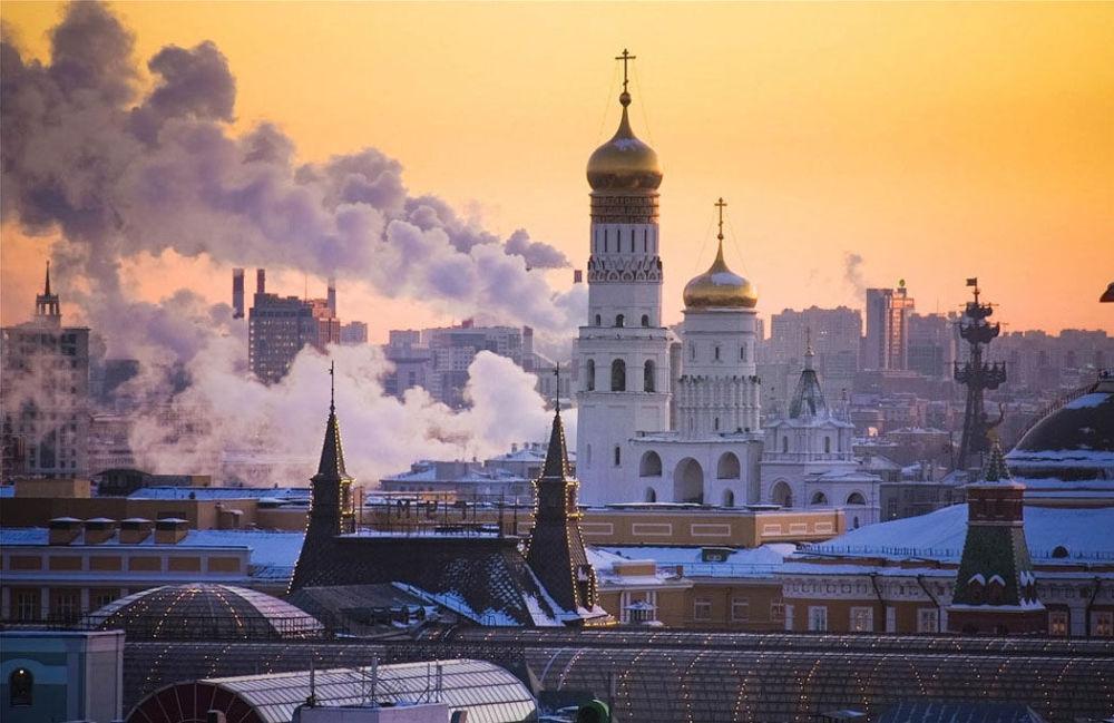 موسكو فى فصل الشتاء