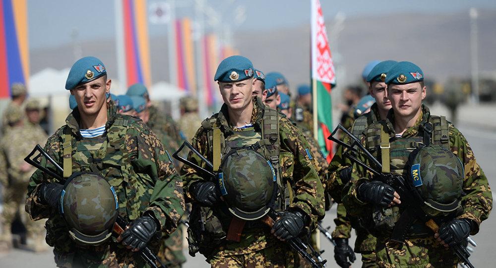 جنود بيلاروس
