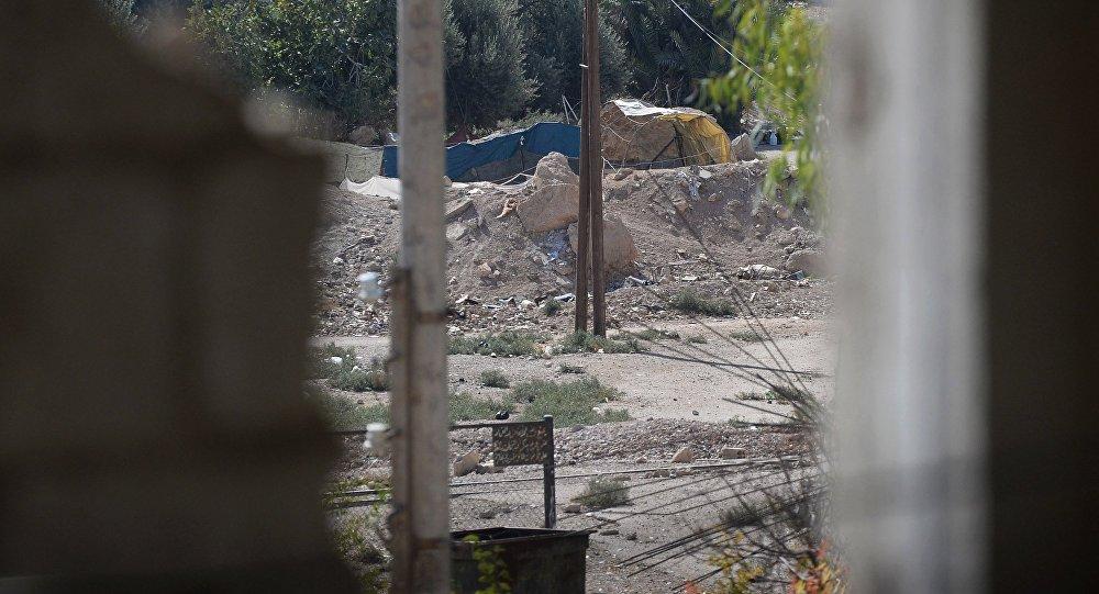 مواقع لمسلحين في ريف دمشق