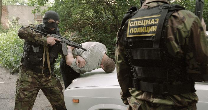 القوات الخاصة الروسية تعتقل تاجر مخدرات