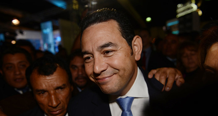 جيمي موراليس رئيس غواتيمالا الجديد