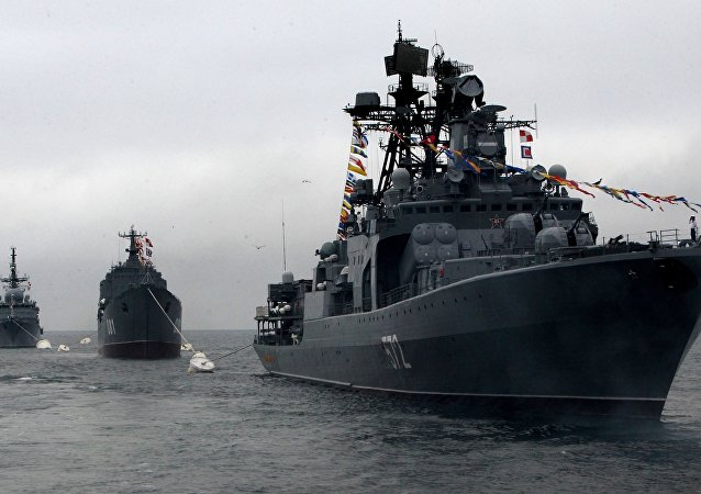 سفن الأسطول الروسي في المحيط الهادئ