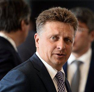 مكسيم سوكولوف وزير النقل الروسي