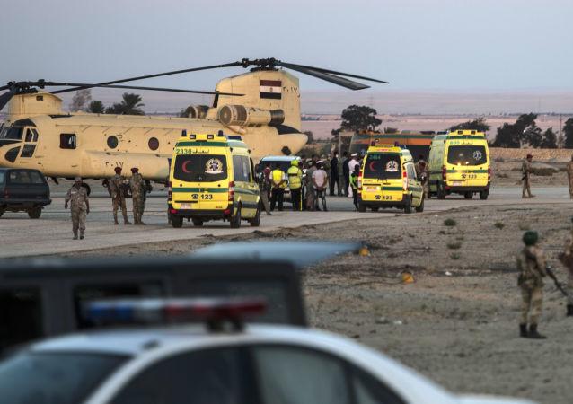 حادث تحطم الطائرة الروسية في سيناء