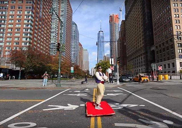 علاء الدين حقيقي في نيويورك!