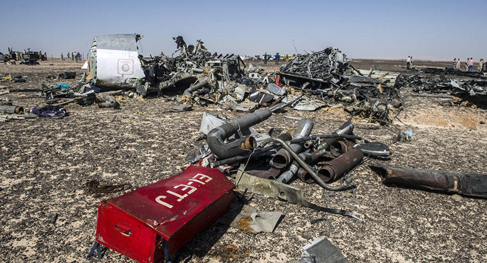 تحطم الطائرة الروسية