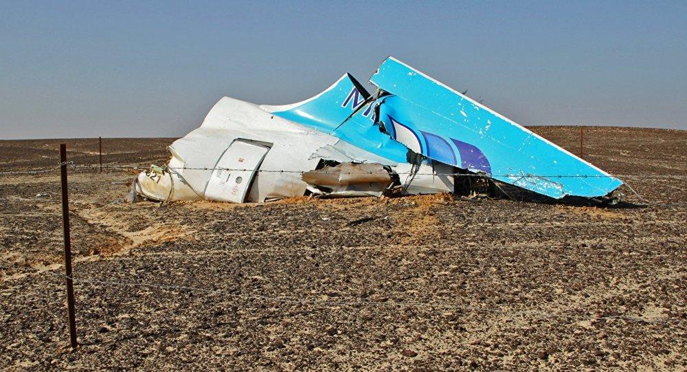 حطام طائرة ايرباص 321 في سيناء