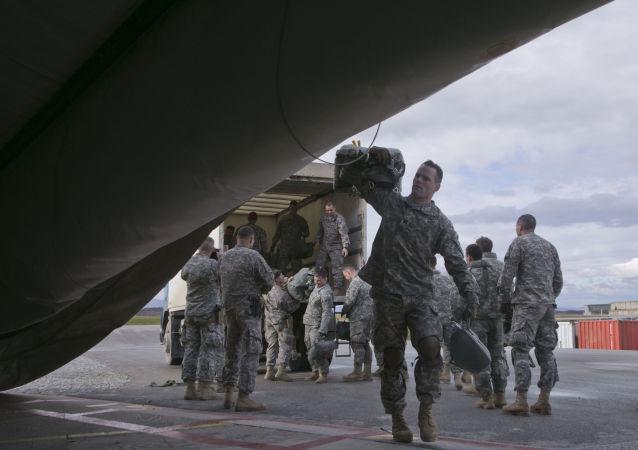 جنود أمريكيون