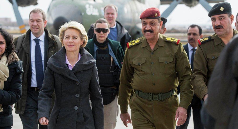 وزيرة الدفاع الألمانية  أورسولا فون در لاين