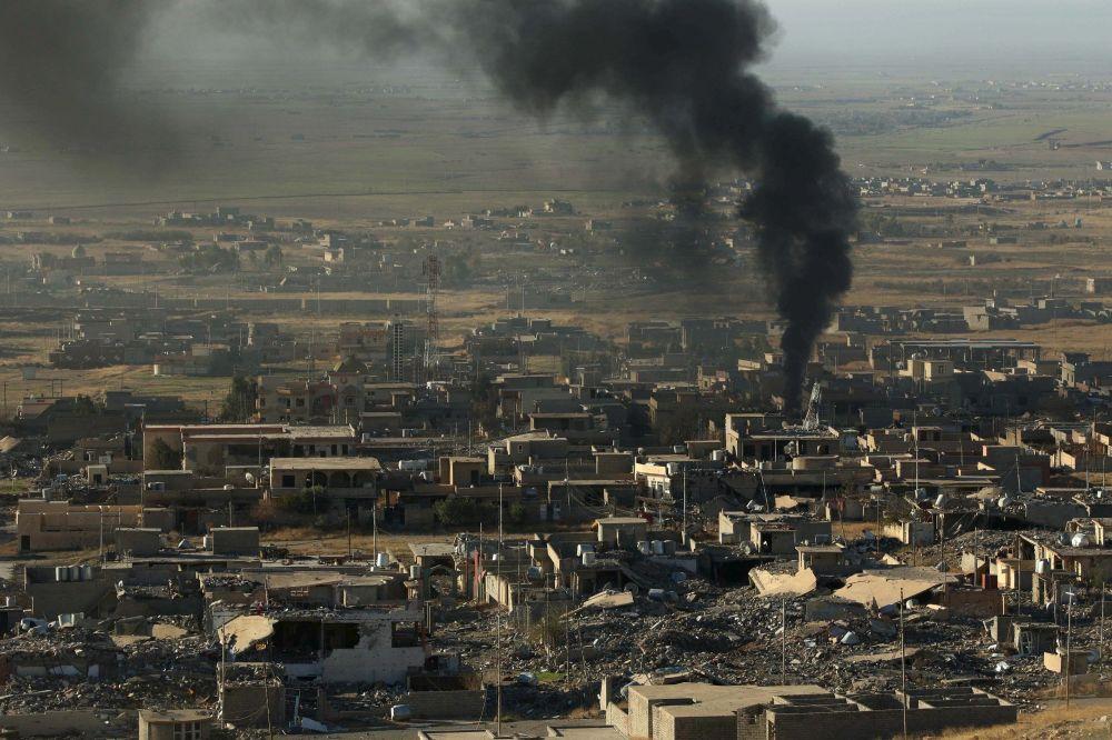 هجوم قوات البشمركة على مواقع تنظيم داعش في شمال العراق