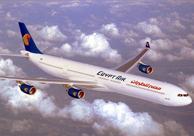 طائرة مصرية