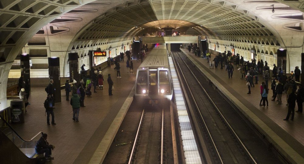 L'Enfant Metro Station in Washington