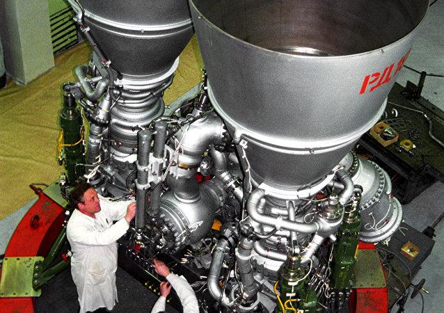 محرك صاروخي