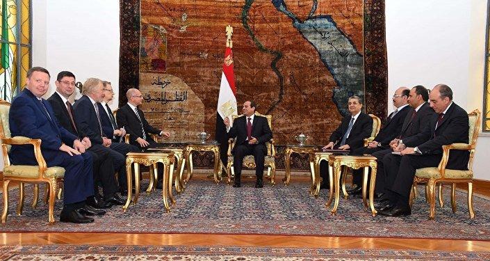 مصر وروسيا وتوقيع اتفاق المحطة النووية في الضبعة