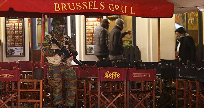 العملية الأمنية في بروكسل